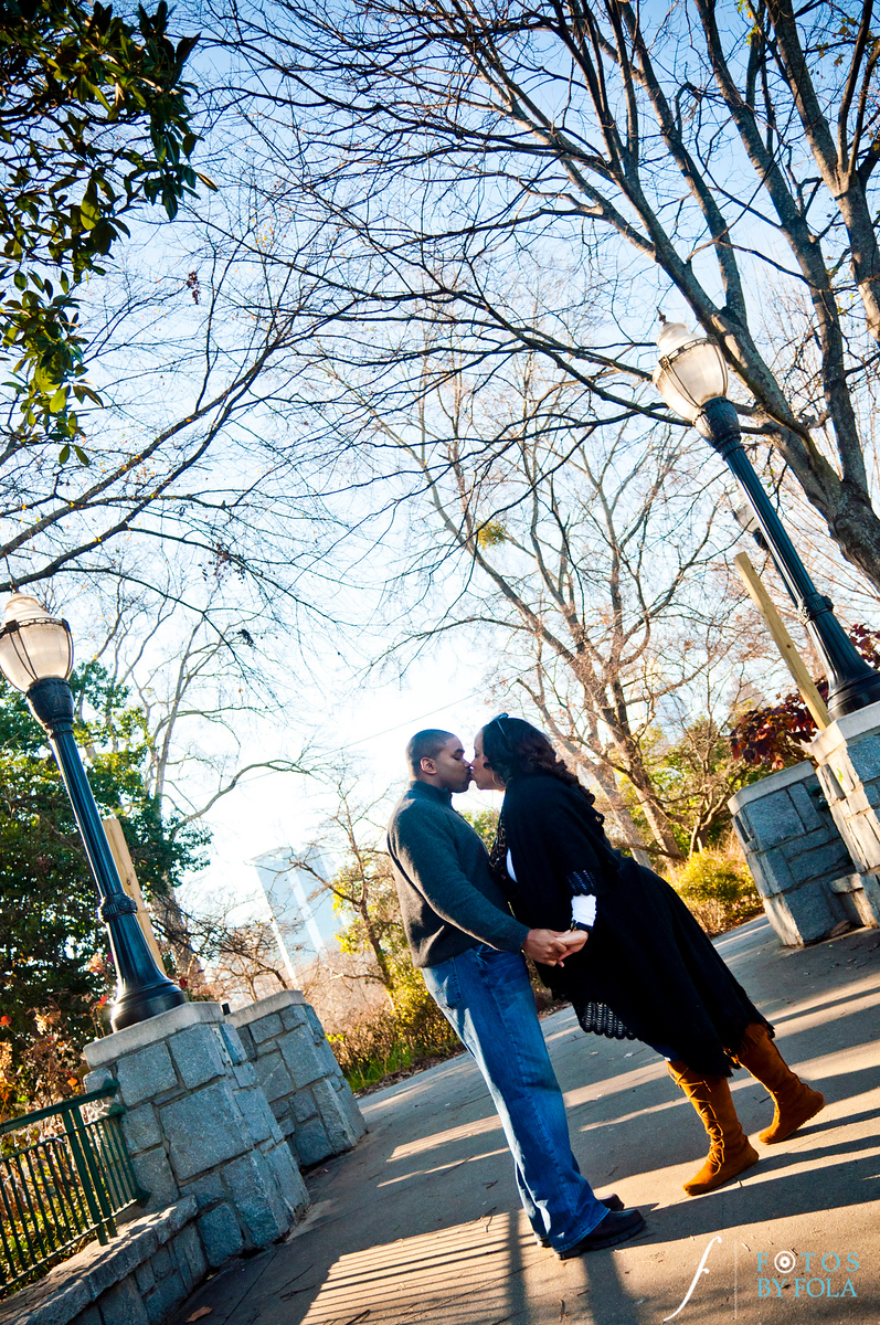 15. Alexandra + Michael Engagement Session | Piedmont Park + Atlantic Station | Fotos by Fola | Atlanta Wedding Photographers