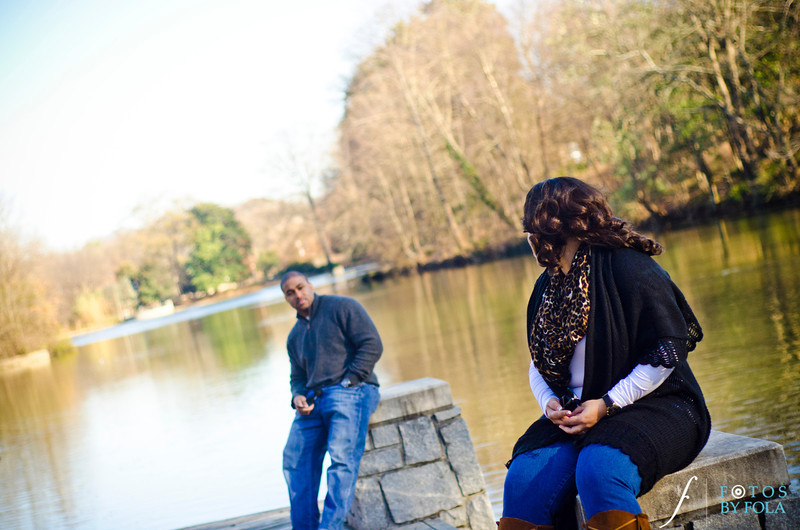 20. Alexandra + Michael Engagement Session | Piedmont Park + Atlantic Station | Fotos by Fola | Atlanta Wedding Photographers