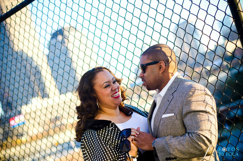 45. Alexandra + Michael Engagement Session | Piedmont Park + Atlantic Station | Fotos by Fola | Atlanta Wedding Photographers