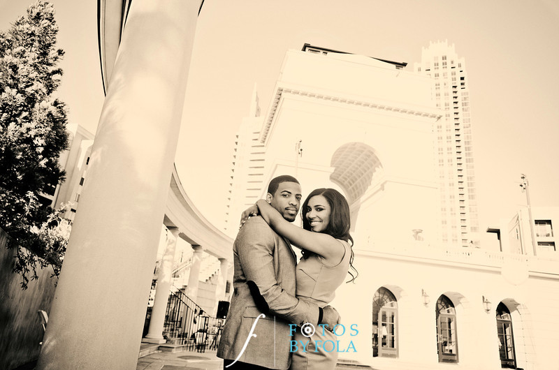 70. Ashley + Phillip Engaged! | Atlanta History Center | Atlantic Station | Atlanta Wedding Photographers | Fotos by Fola