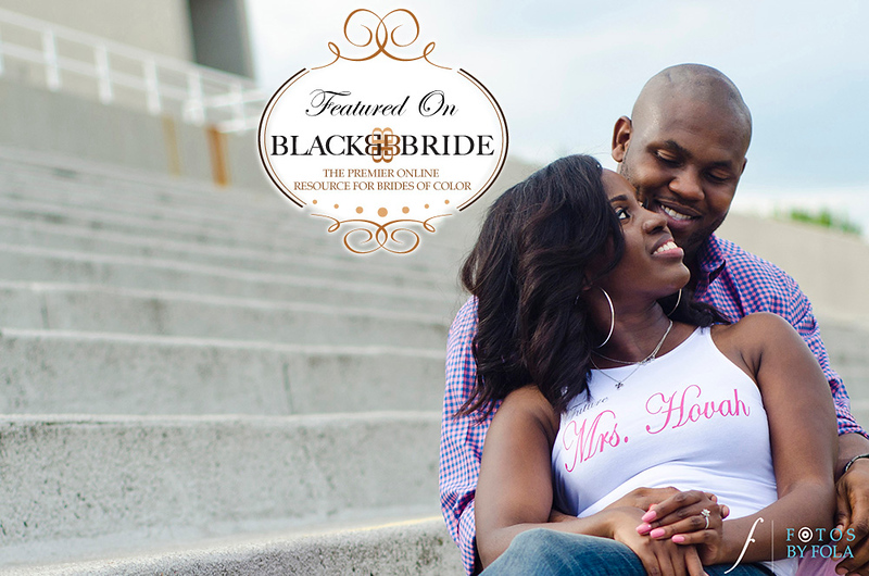 Cadesha & Tramaine featured on Black Bride | Fotos by Fola | Atlanta Wedding Photographs