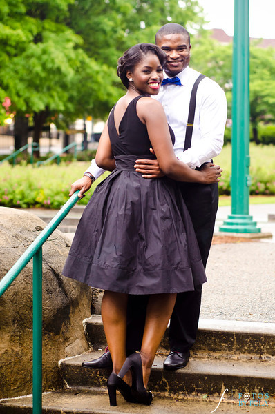 21. Timeless Love! Mathilda & Osa Vintage E-Session | Stats Atlanta | Centennial Olympic Park | Biltmore Ballrooms | Atlanta Wedding Photographers