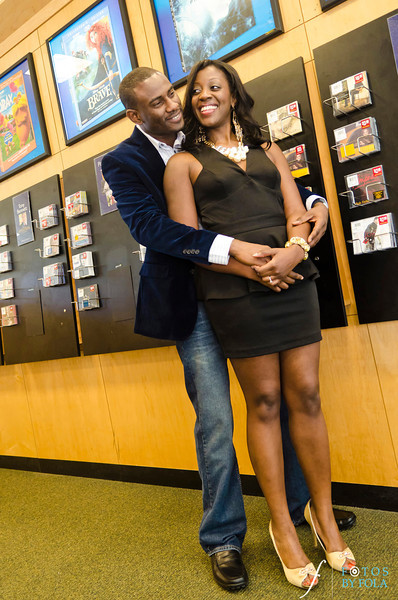 25. Nneka + Obinna E-Session | Barnes & Noble | Macon | Fotos by Fola | Atlanta Wedding Photographers