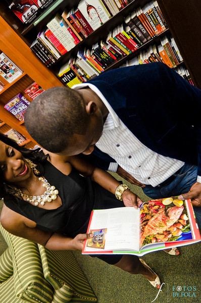 20. Nneka + Obinna E-Session | Barnes & Noble | Macon | Fotos by Fola | Atlanta Wedding Photographers