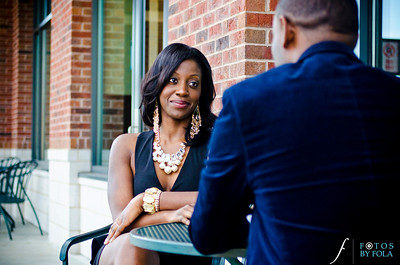 35. Nneka + Obinna E-Session | Barnes & Noble | Macon | Fotos by Fola | Atlanta Wedding Photographers