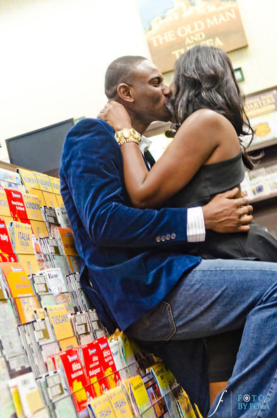 15. Nneka + Obinna E-Session | Barnes & Noble | Macon | Fotos by Fola | Atlanta Wedding Photographers