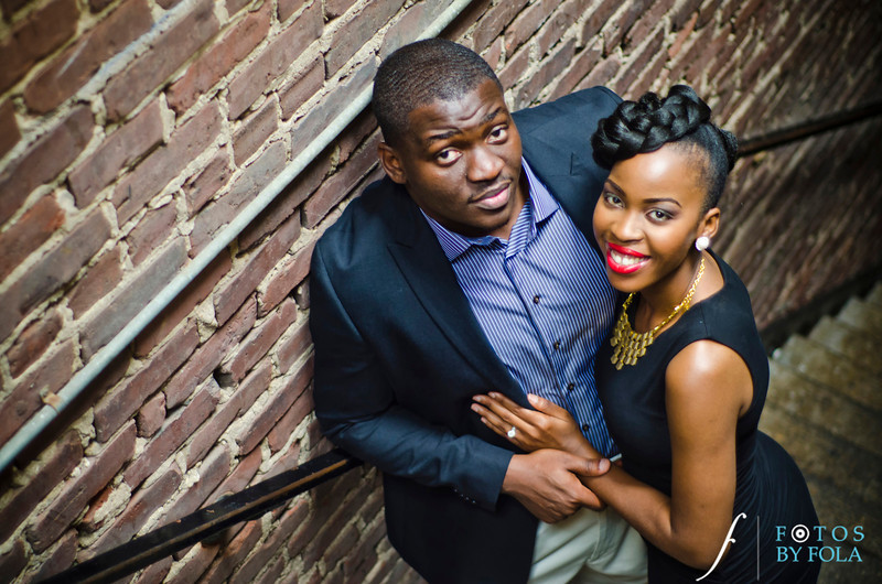 40. Olamide + Dotun E-Session | Atlanta Botanical Garden | Virginia Highland | Atlanta Wedding Photographers | Fotos by Fola
