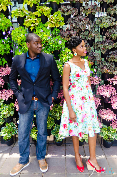 20. Olamide + Dotun E-Session | Atlanta Botanical Garden | Virginia Highland | Atlanta Wedding Photographers | Fotos by Fola