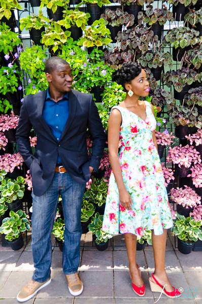 20. Olamide + Dotun E-Session | Atlanta Botanical Garden | Virginia Highland | Atlanta Wedding Photographers | Fotos by Fola