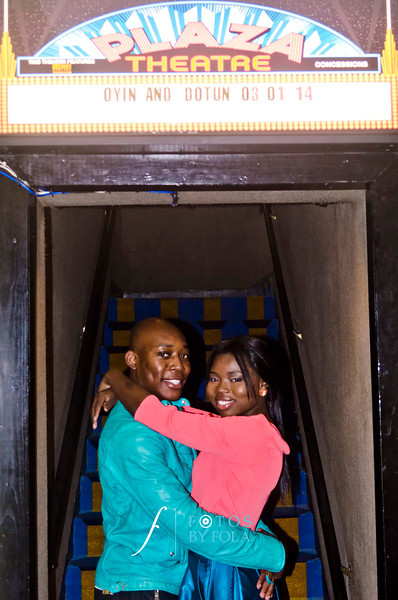 70. College Sweethearts! Oyin + Dotun E-Session | Morris Brown College | Plaza Theatre | Fernbank Museum | Atlanta Wedding Photographers | Fotos by Fola