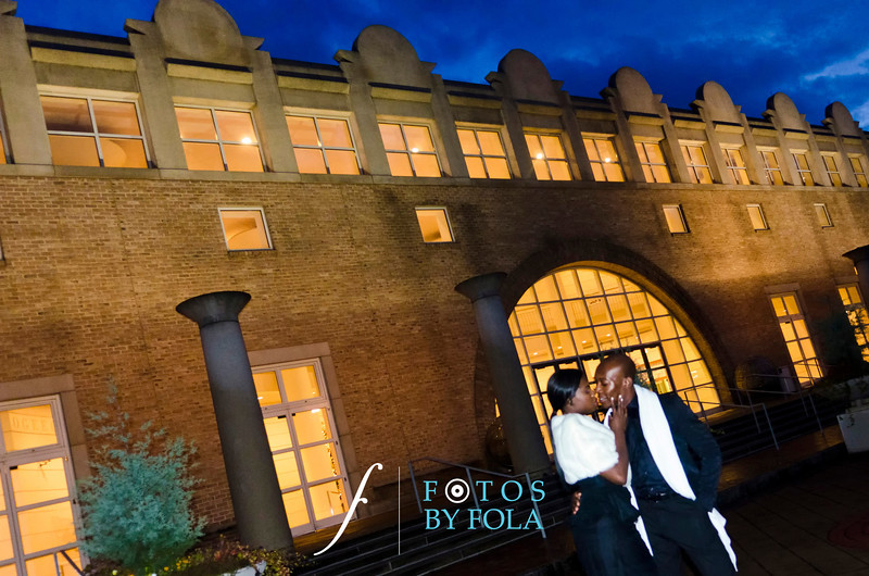 94. College Sweethearts! Oyin + Dotun E-Session | Morris Brown College | Plaza Theatre | Fernbank Museum | Atlanta Wedding Photographers | Fotos by Fola