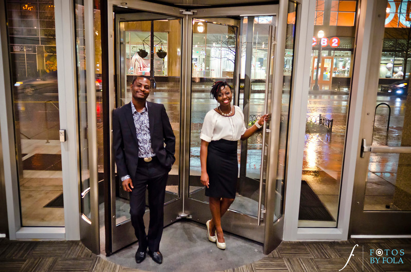 55. Rain or Shine! Ronke & Wole E-session | Atlanta Botanical Garden | Loews Hotel Atlanta | Fotos by Fola | Atlanta Wedding Photographers