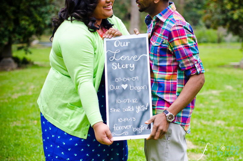 20. Shawnell and Will Engagement Session | Cator Wolford Gardens | Midtown Atlanta | Fotos by Fola | Atlanta Wedding Photographers