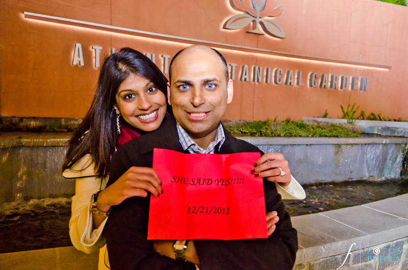 37. Dhaval & Neepa Surprise Proposal