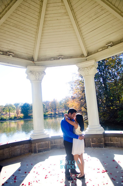 40. Jenny and Robin Surprise Proposal | Piedmont Park | Atlanta Wedding Photographers | Fotos by Fola