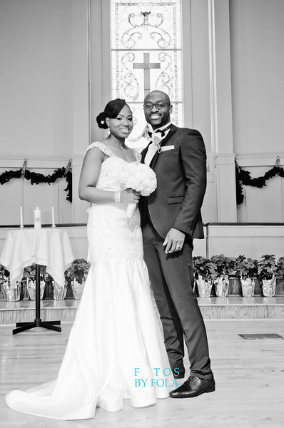 60. Demi + Ife Wedding | Clairmon Hills Baptist Church | Emory Conference Center Hotel | Fotos by Fola | Atlanta Wedding Photographers