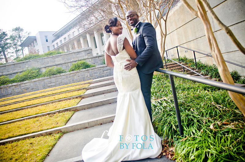 90. Demi + Ife Wedding | Clairmon Hills Baptist Church | Emory Conference Center Hotel | Fotos by Fola | Atlanta Wedding Photographers