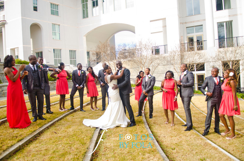 80. Demi + Ife Wedding | Clairmon Hills Baptist Church | Emory Conference Center Hotel | Fotos by Fola | Atlanta Wedding Photographers
