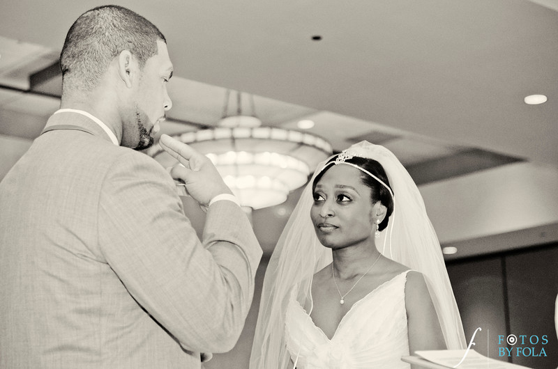 80. Ronica & Christopher Charlotte NC Wedding | Renaissance Suites Hotel Charlotte | Atlanta Wedding Photographers | Fotos by Fola
