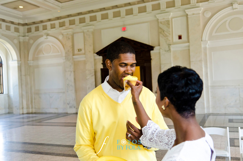 40. Teryn and Corey Yellow Wedding | Dekalb County Court House | Atlanta Wedding Photograhers | Fotos by Fola