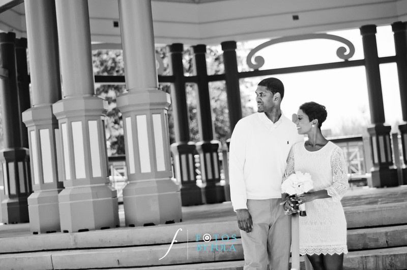 50. Teryn and Corey Yellow Wedding | Dekalb County Court House | Atlanta Wedding Photograhers | Fotos by Fola