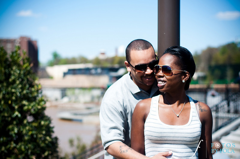 9. Cherdon & Greg Engagement Session | Historic Fourth Ward Park Atlanta | Atlanta Wedding Photographer | Fotos by Fola