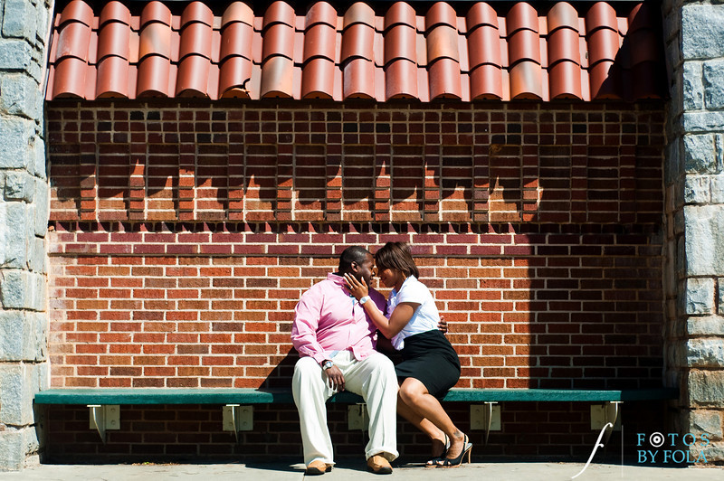 7. Salethia & James Engagement Session | Piedmont Park | Inman Middle School Atlanta | Atlanta Wedding Photographer | Fotos by Fola