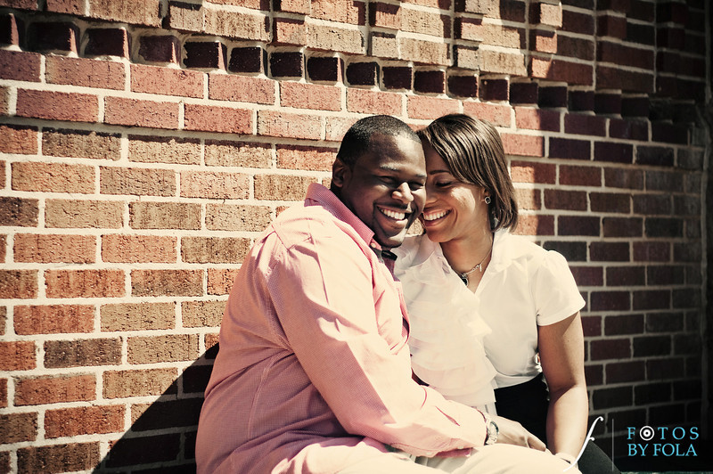 8. Salethia & James Engagement Session | Piedmont Park | Inman Middle School Atlanta | Atlanta Wedding Photographer | Fotos by Fola