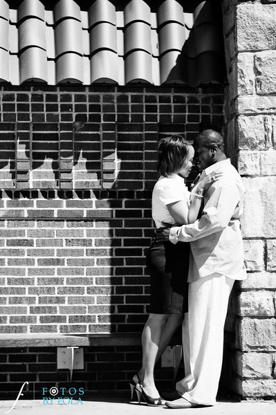 9. Salethia & James Engagement Session | Piedmont Park | Inman Middle School Atlanta | Atlanta Wedding Photographer | Fotos by Fola