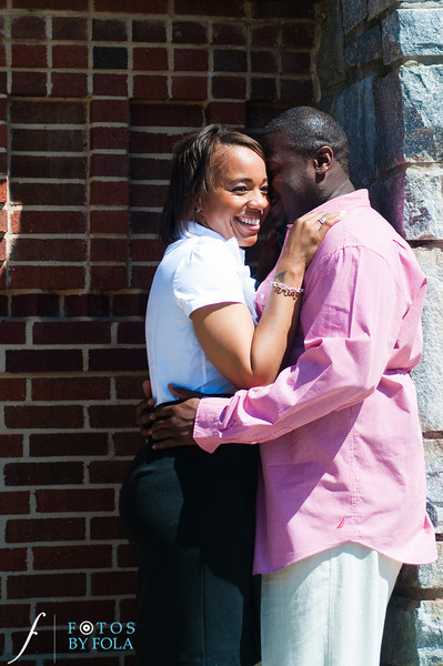10. Salethia & James Engagement Session | Piedmont Park | Inman Middle School Atlanta | Atlanta Wedding Photographer | Fotos by Fola