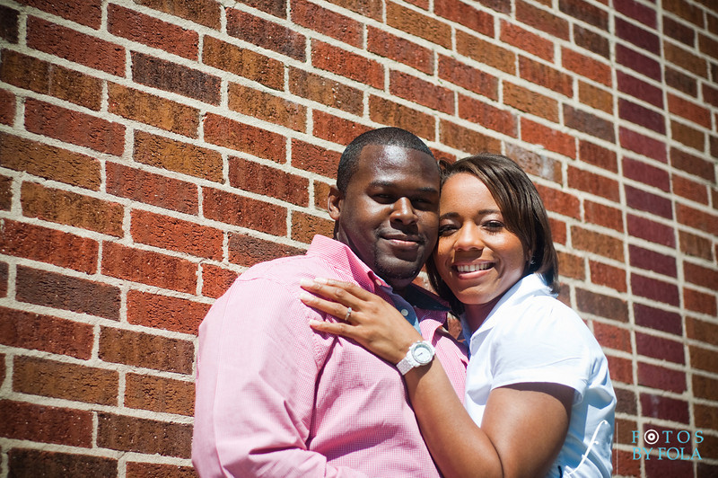 13. Salethia & James Engagement Session | Piedmont Park | Inman Middle School Atlanta | Atlanta Wedding Photographer | Fotos by Fola