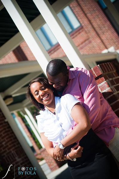 15. Salethia & James Engagement Session | Piedmont Park | Inman Middle School Atlanta | Atlanta Wedding Photographer | Fotos by Fola