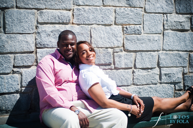 18. Salethia & James Engagement Session | Piedmont Park | Inman Middle School Atlanta | Atlanta Wedding Photographer | Fotos by Fola
