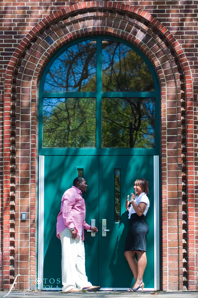 22. Salethia & James Engagement Session | Piedmont Park | Inman Middle School Atlanta | Atlanta Wedding Photographer | Fotos by Fola