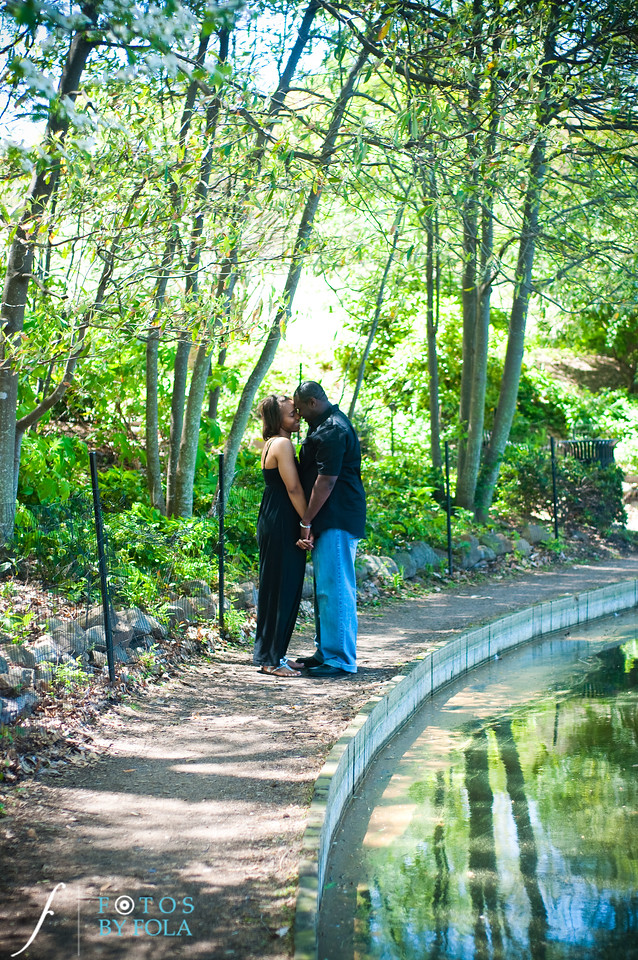 29. Salethia & James Engagement Session | Piedmont Park | Inman Middle School Atlanta | Atlanta Wedding Photographer | Fotos by Fola