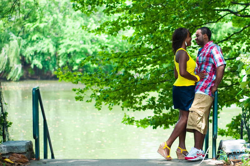 4. Raymond's Surprise Proposal | Piedmont Park Atlanta | Atlanta Wedding Photographer | Fotos by Fola