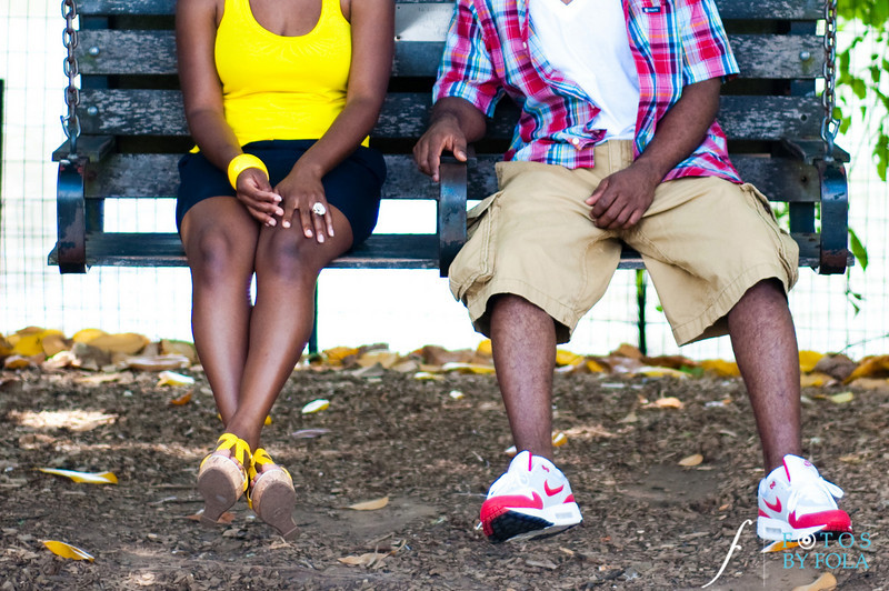 8. Raymond's Surprise Proposal | Piedmont Park Atlanta | Atlanta Wedding Photographer | Fotos by Fola