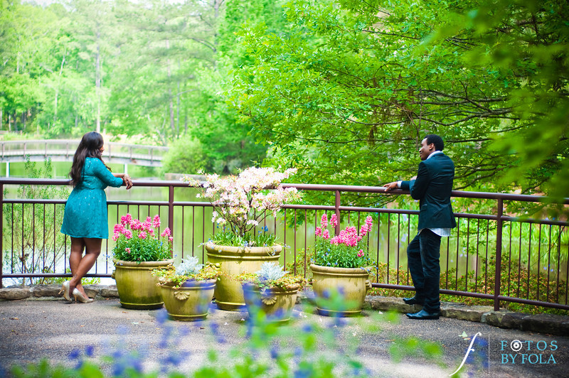 34. Aimee & Sam Engagement Session | Callaway Gardens | Atlanta Wedding Photographer | Fotos by Fola