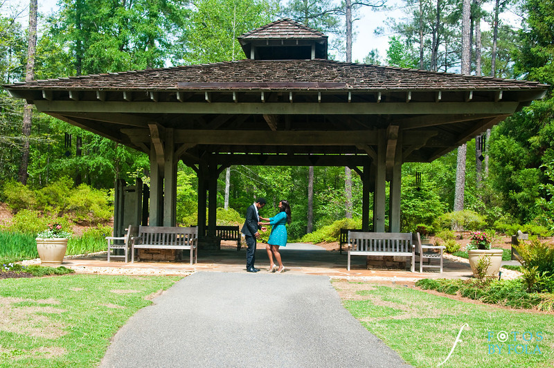 31. Aimee & Sam Engagement Session | Callaway Gardens | Atlanta Wedding Photographer | Fotos by Fola