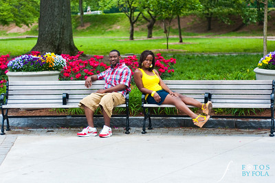 16. Raymond's Surprise Proposal | Piedmont Park Atlanta | Atlanta Wedding Photographer | Fotos by Fola