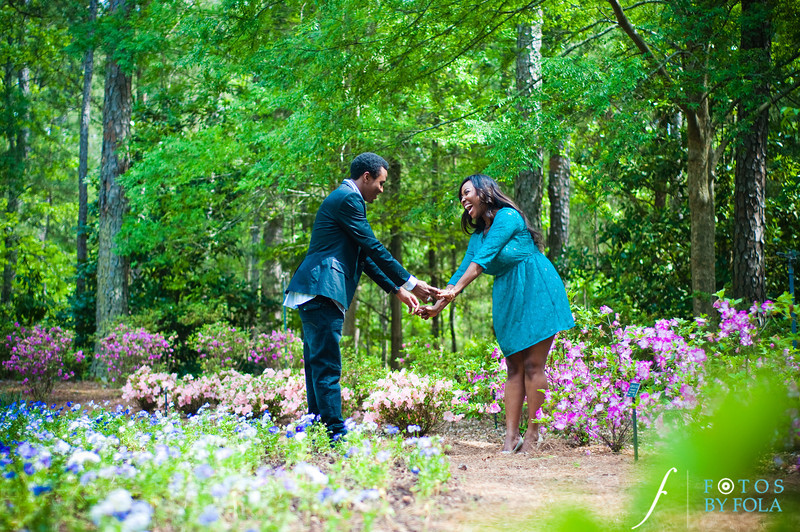 27. Aimee & Sam Engagement Session | Callaway Gardens | Atlanta Wedding Photographer | Fotos by Fola