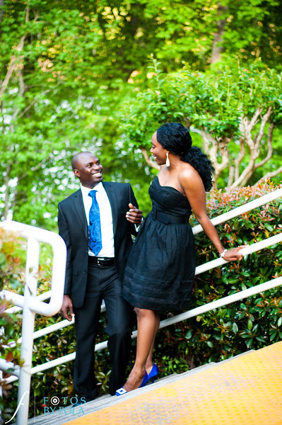 14. Titi & Remi Engagement Session | Stone Mountain Park | Fotos by Fola | Atlanta Wedding Photographer