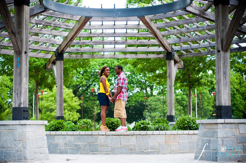 19. Raymond's Surprise Proposal | Piedmont Park Atlanta | Atlanta Wedding Photographer | Fotos by Fola