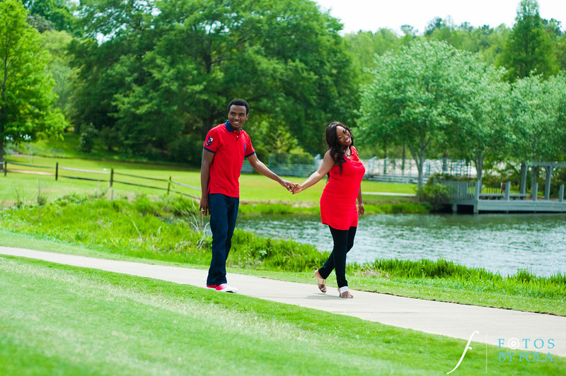 17. Aimee & Sam Engagement Session | Callaway Gardens | Atlanta Wedding Photographer | Fotos by Fola