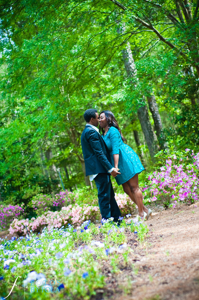 28. Aimee & Sam Engagement Session | Callaway Gardens | Atlanta Wedding Photographer | Fotos by Fola