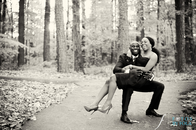 28. Titi & Remi Engagement Session | Stone Mountain Park | Fotos by Fola | Atlanta Wedding Photographer