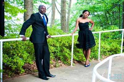18. Titi & Remi Engagement Session | Stone Mountain Park | Fotos by Fola | Atlanta Wedding Photographer