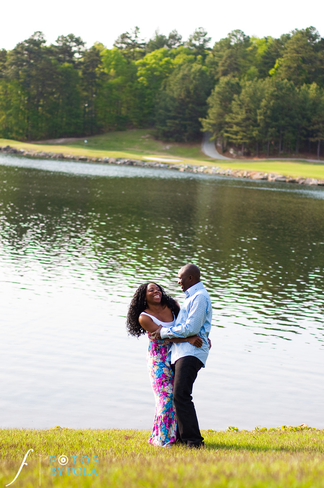 4. Titi & Remi Engagement Session | Stone Mountain Park | Fotos by Fola | Atlanta Wedding Photographer