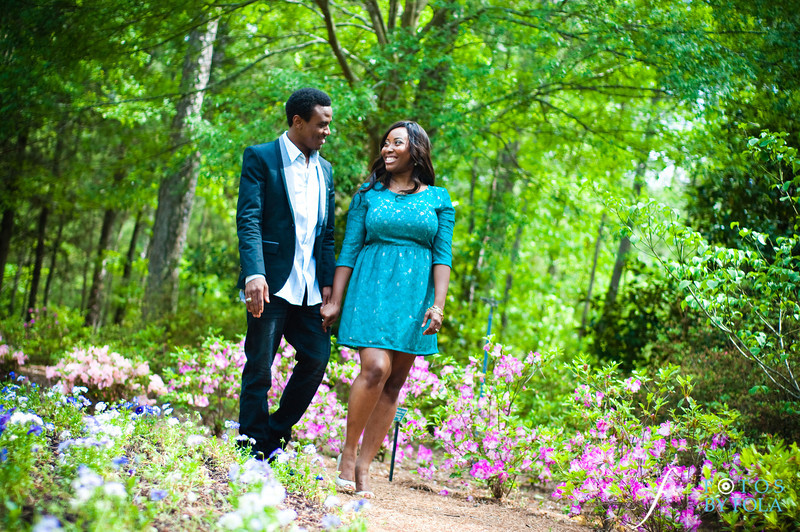 29. Aimee & Sam Engagement Session | Callaway Gardens | Atlanta Wedding Photographer | Fotos by Fola
