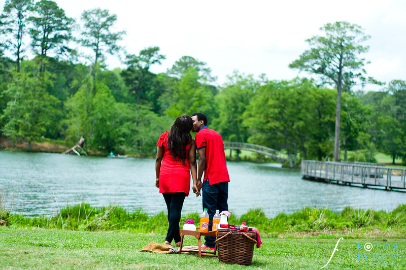 16. Aimee & Sam Engagement Session | Callaway Gardens | Atlanta Wedding Photographer | Fotos by Fola